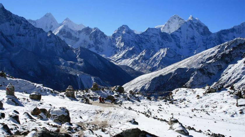 Walking trails of Everest region
