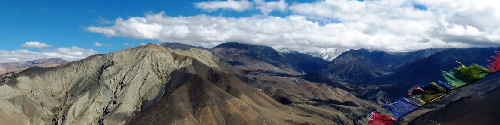 Barren Landscapes of Mustang where wind blows so peaceful and calm