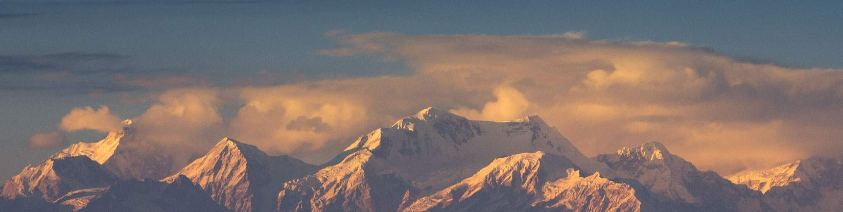 The Himalayas on sight from the window of the flight!