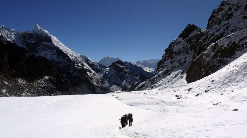 Experience thrilling walk through glaciers!
