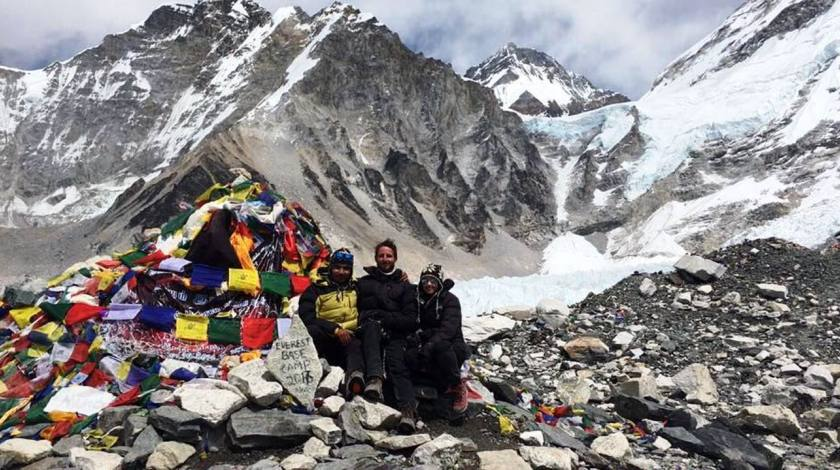 Everest Base Camp (5364m)