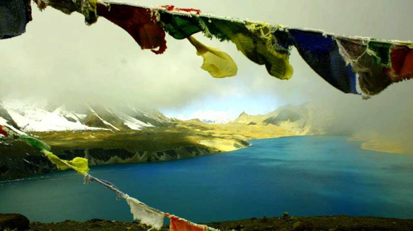 World Highest Tilicho Lake at 4919m