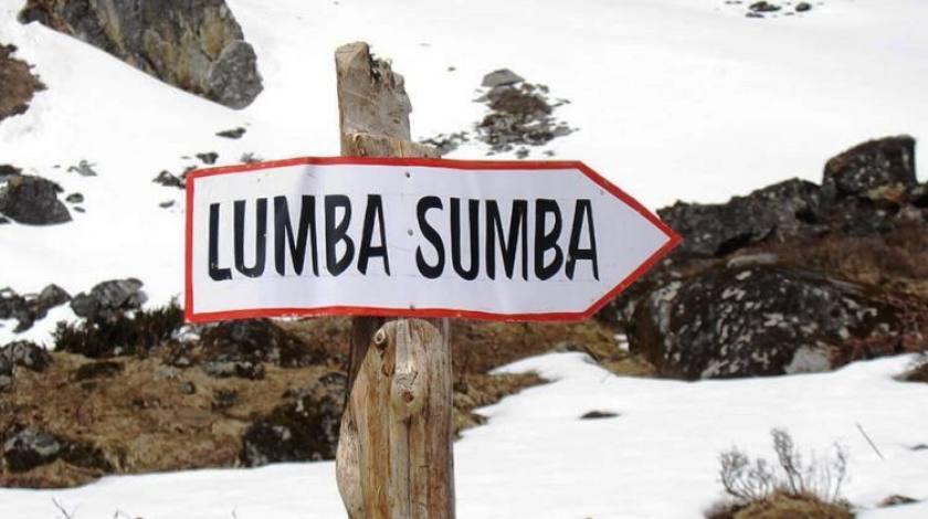 Adventurous Lumbasumba Pass at 5177m / 16984 ft
