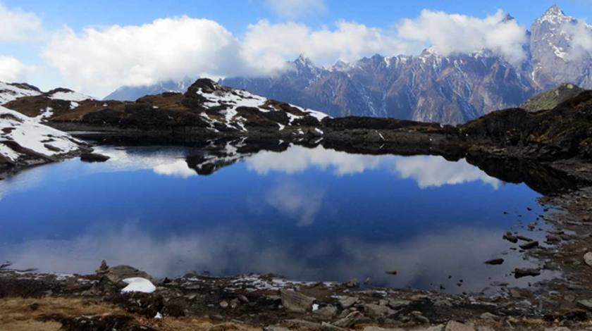 Beautiful Lake on the way to Makalu Base Camp