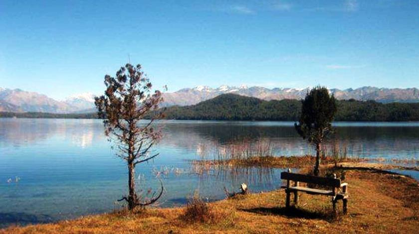 Quiet and Calm Rara Lake