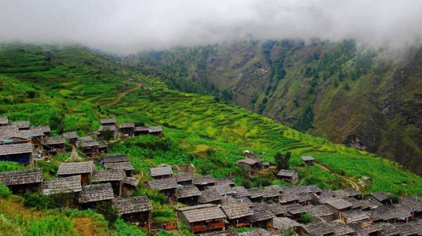 Beautiful Gatlang Village
