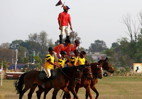 Ghode Jatra - A Horse Racing Day