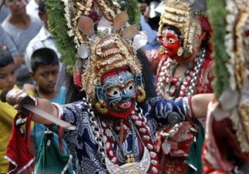 Indra Jatra — A Celebration tribute to the King of Gods