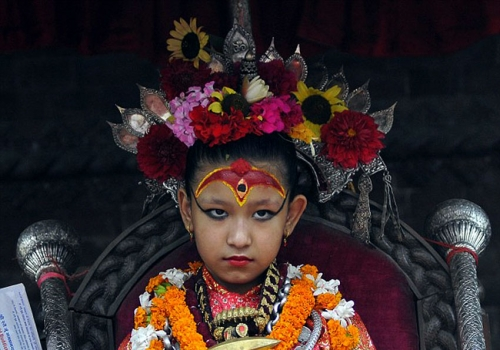 Kumari - Mystic Living Goddess of Nepal