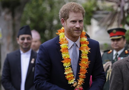 My tika has faded, it's probably time to go back to Nepal — Prince Harry