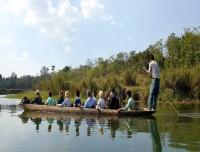 Canoeing Rapti