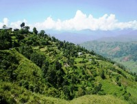 Green Countryside of Kathmandu Valley