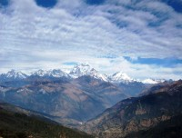 Dhaulagiri Range seen from Poon Hill