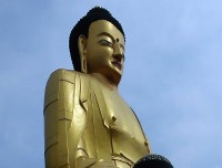 Lord Buddha Statue of Swayambu