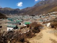 Pangboche Village