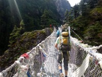 Suspension Bridge of Everest