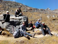 Take A Rest Trekkers (On the way to EBC)