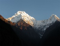 Annapurna South and Hiuchuli