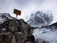 Direction Map to Everest Base Camp