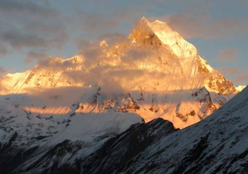 Mount Fishtail View from ABC