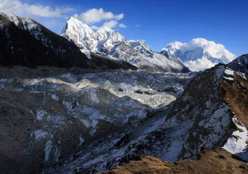 Experience thrilling walk through glaciers