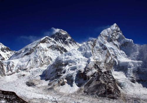 Nice Shot of Everest Range and Nuptse from Kala Patthar