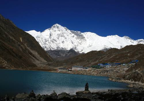 Gokyo Valley with World sixth highest Cho Oyu