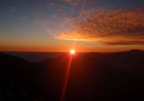 Sunset at Lauribinayak Gosaikudna