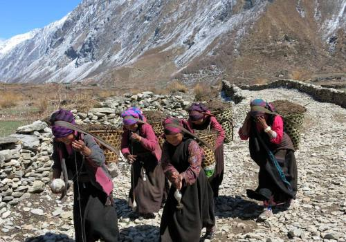 Local People of Manaslu