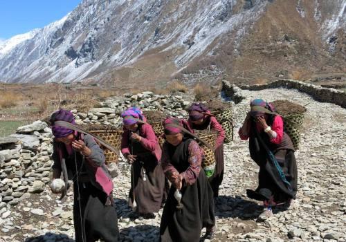 Local People of Manaslu