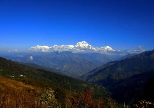 Majestic Dhaulagiri Range